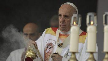Papa Francisc victoria