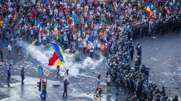 protestul diasporei