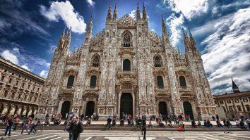Luare de ostateci la Domul din Milano