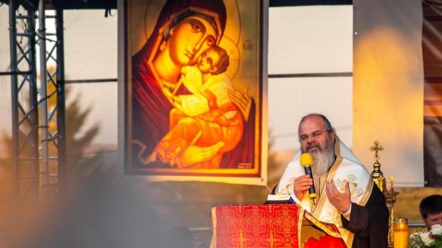 Episcopul Huşilor Ignatie infectat