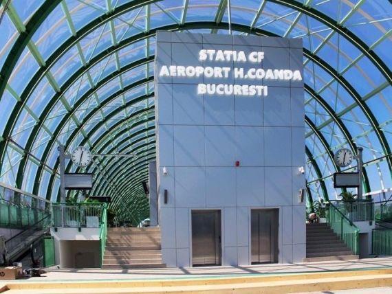 cale ferată Otopeni Gara de Nord