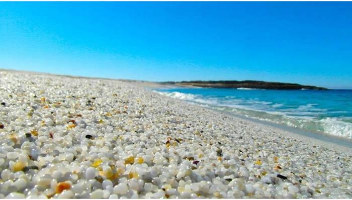 nisip furat din Sardinia