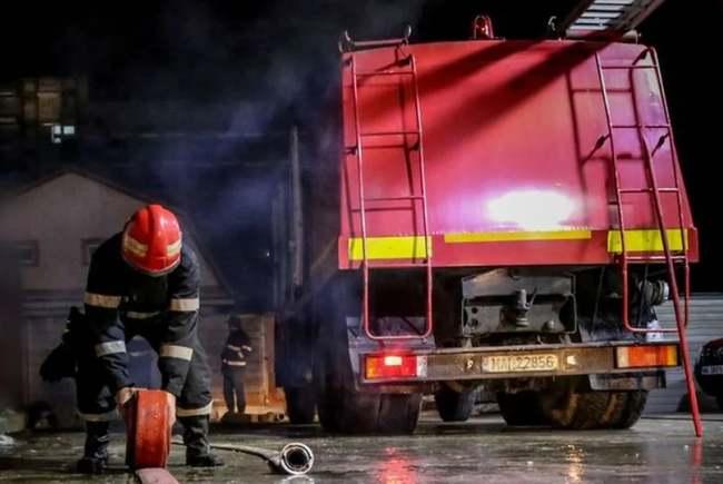 incendiu într-un spital din România