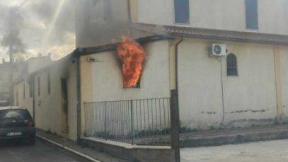 incendiu biserica pavona