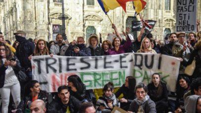 romani no green pass italia