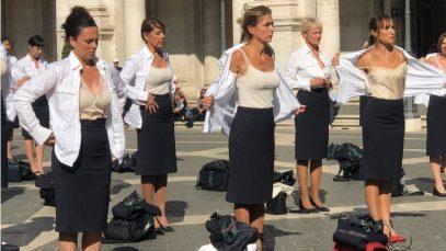 stewardese alitalia